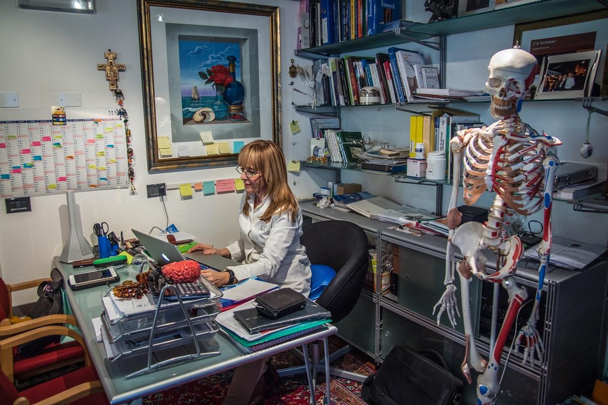 Un'immagine dello studio personale della dott.ssa Azzini nello studio dentistico a Trento